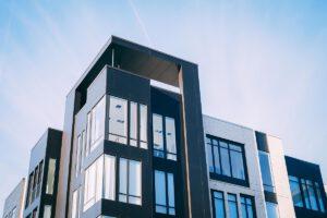 Wohnen in einem Neubau