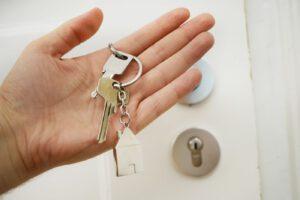 Übergabeprotokoll und Schlüsselübergabe