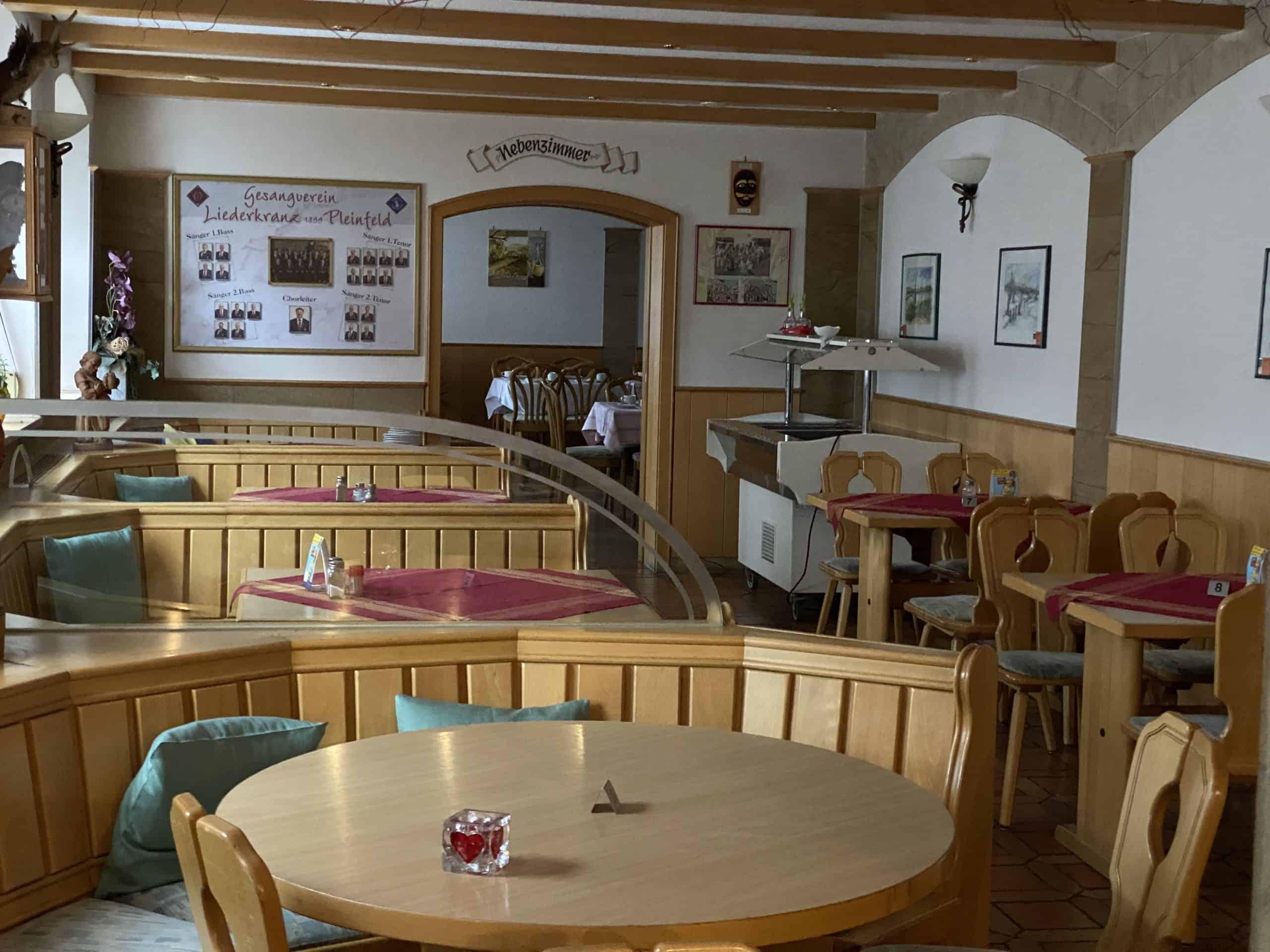 Gemütliche Gastwirtschaft in Pleinfeld am Brombachsee